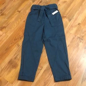 Anthropologie Paperbag Utility Trousers